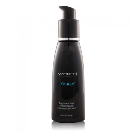 Wicked Aqua Lube Fragrance Free 2 fl.Oz