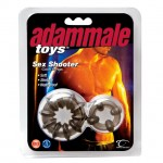 Adam Male Toys Sex Shooter Cock Rings (Smoke)