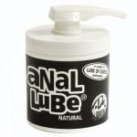 Anal Lube 4.5oz. Pump (Natural)