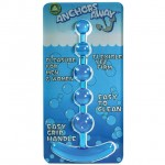 Anchors Away Anal Beads (Blue)