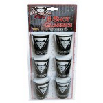 Bachelor Party Shot Glasses (Set of 6)