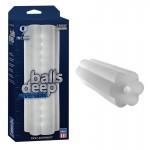 Balls Deep - 9in Stroker- Reversible Frost