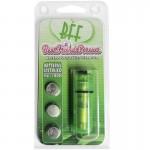 BFF Waterproof Vibrating Bullet Green