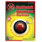 Bullshit Button Key Chain