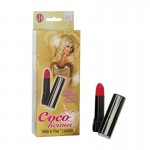 Coco Licious Hide & Play Lipstick - Black