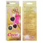 Coco Licious Kegel Balls - Black Balls