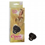 Coco Licious Love Ring - Black