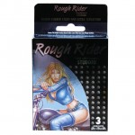 Contempo Rough Rider Studded Condoms (3 Pack)