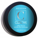 Coochy After Shave Protection Powder with Application Puff,  .46 Oz., Jar