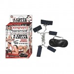 Dominant Submissive Collection 4 Cuffs & Collar (Black)