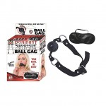 Dominant Submissive Collection Ball Gag (Black)