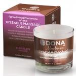 DONA Kissable Massage Candle Chocolate Mousse 4.75oz