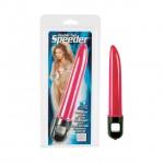 Double Tap Speeder Vibrator - Pink