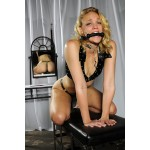 silicone bit gag, from sex and metal - Bit gags