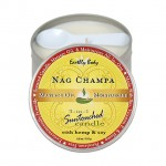 Earthly Body Massage Candle Nag Champa 6.8oz