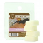 Earthly Body Massage Melt Refill Lavender 1 oz