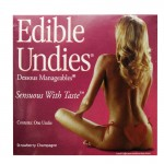 Edible Undies For Men - Strawberry Champagne