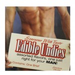 Edible Undies For Men - Strawberry Chocolate