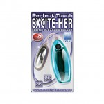 Excite Her Silver Bullet (Luster Blue)
