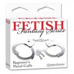 Fetish Fantasy Beginners Metal Cuffs