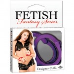 Fetish Fantasy Designer Metal Handcuffs Purple