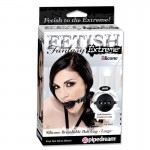 Fetish Fantasy Extreme Silicone Breathable Ball Gag - Large
