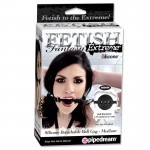 Fetish Fantasy Extreme Silicone Breathable Ball Gag - Medium