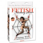 Fetish Fantasy Fantasy Web Bed Restraint System