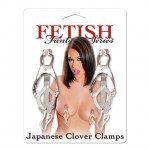 Fetish Fantasy Japanese Clover Clamps