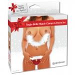 Fetish Fantasy Jingle Bell Nipple Clamps & Panty