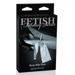 Fetish Fantasy Ltd. Ed. Grey Silk Ties