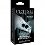Fetish Fantasy Ltd. Ed. Medium Black Glass Ben-Wa Balls