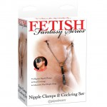 Fetish Fantasy Nipple Clamps & Cockring Set