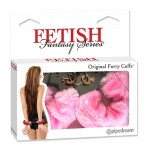 Fetish Fantasy Original Furry Cuffs Pink