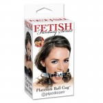 Fetish Fantasy Platinum Ball Gag Silver
