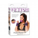 Fetish Fantasy Purple Pleasure Set