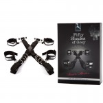 Fifty Shades Stand To Attention Over The Door Restraint-Silver