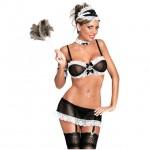 French Maid (Medium/Black) Costume