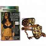 Furplay Harness & Mask - Brown