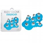 Fuzu Glove Massager Neon Blue