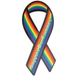 Gaysentials Pride Ribbon Magnet (Support Our Families)
