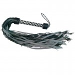 Gray Gated Barbed Wire Flogger