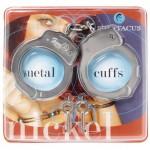 Handcuffs Double Locking Nickel