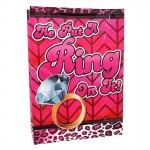 He Put A Ring On It Large Gift Bag