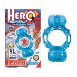 Hero Superstud Partners Ring (Blue)