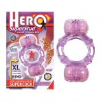 Hero Superstud Partners Ring (Purple)