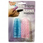 His N Hers Lust Fingers Pink/Blue