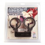 Jap. Love Rope Ankle Cuffs (Black)