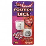 Love Zone Sexual Position Dice (Glow)