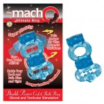 Macho 2X Power Cock/BalllRing (Blue)